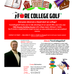 College Golf Recruiting Webinar – Thursday June 7th w/ FCG Advisor – Michael Smith