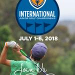 300 Junior Golfers now registered for 2018 FCG International Junior Golf Championship!