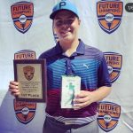WITB with FCG National Tour Legends Boys Champion Nathan Sampson