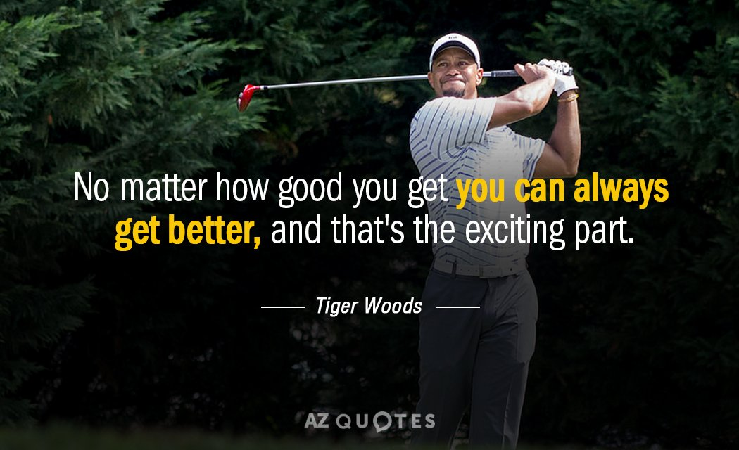 fcg great quotes from tiger woods